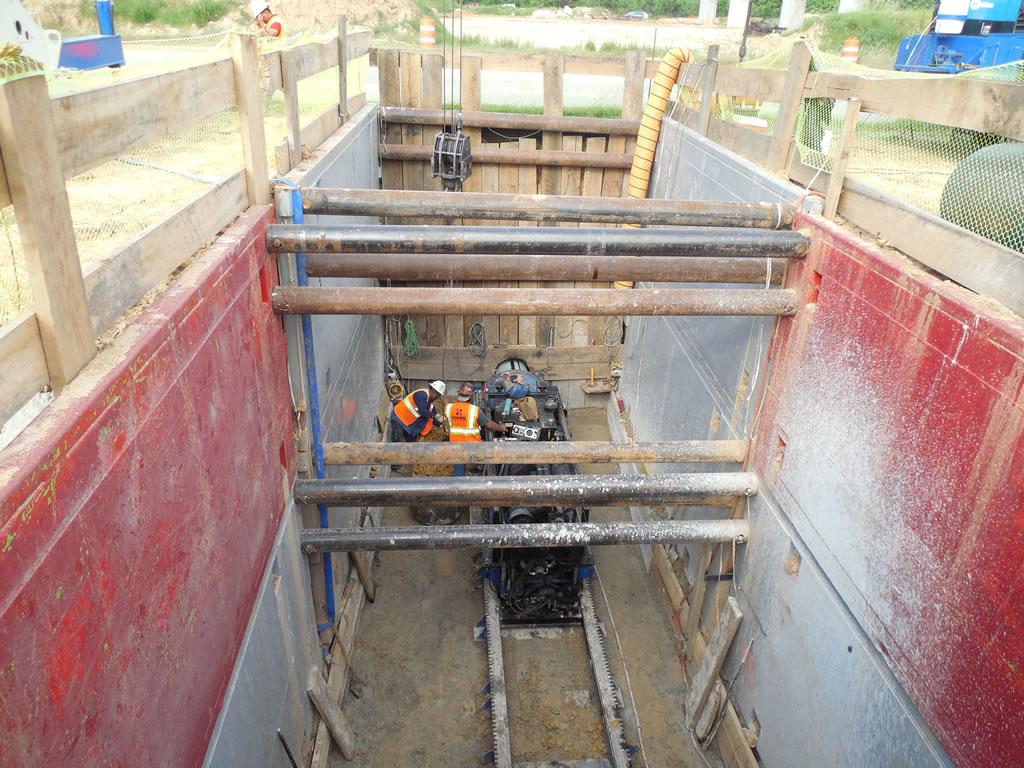 HASS bores tunnels directional drilling in San Antonio Texas