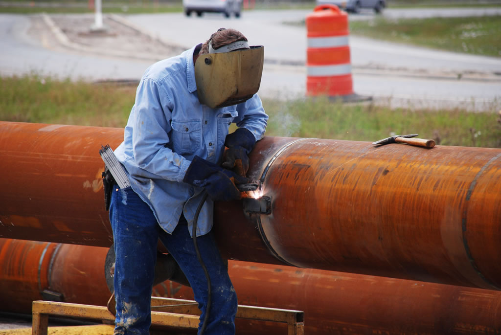 HASS civil casing and welding for heavy construction near Houston TX