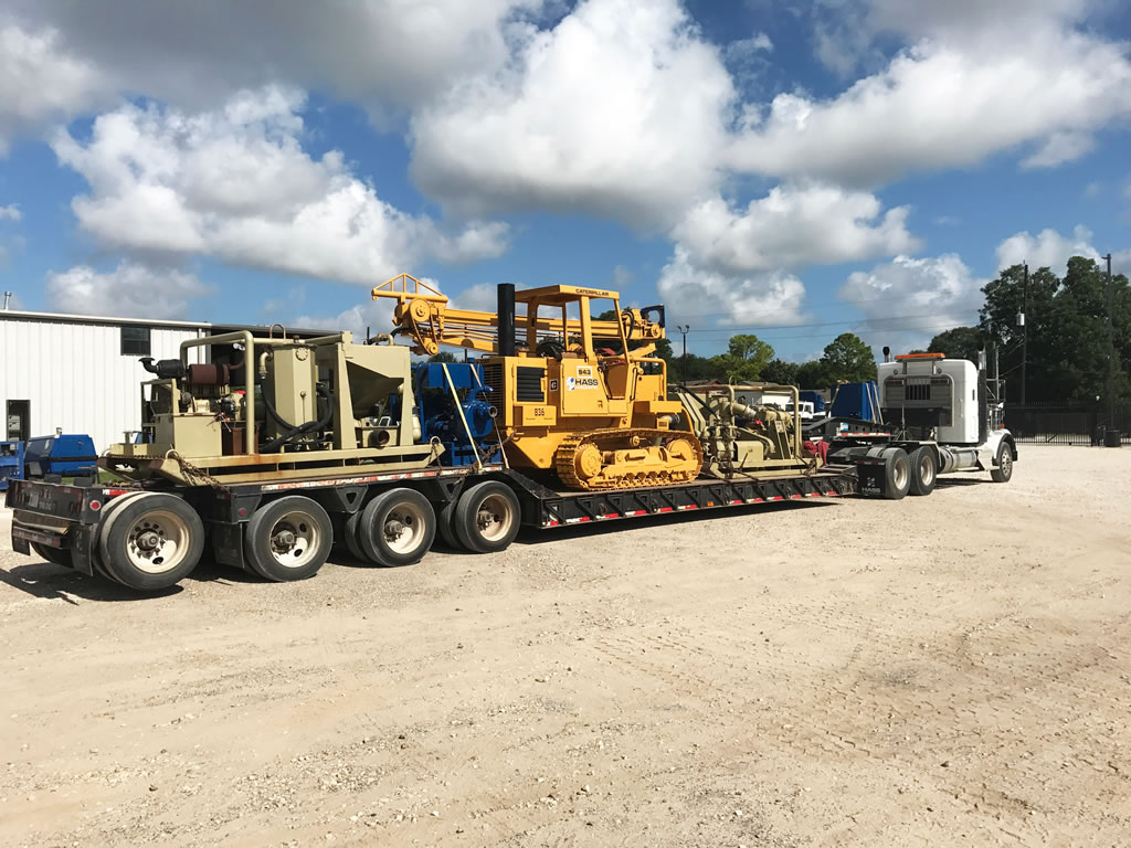 Hass well points dewatering hydrovac excavation and ground water control near Houston TX