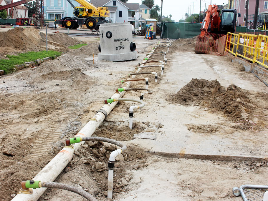Ground Water Control  Well Points Hass Dewatering Houston TX