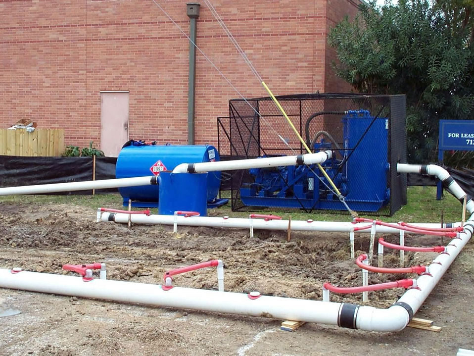 HASS Services Well Setup Dewatering Equipment and ground water control near Houston