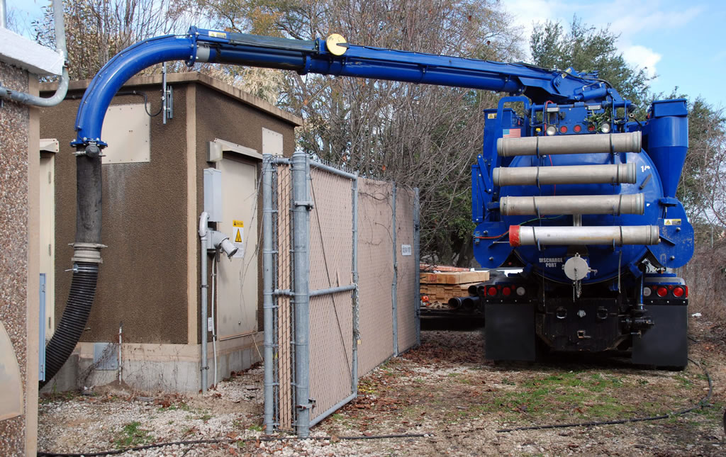 Hass well point setup dewatering and groundwater control Houston TX