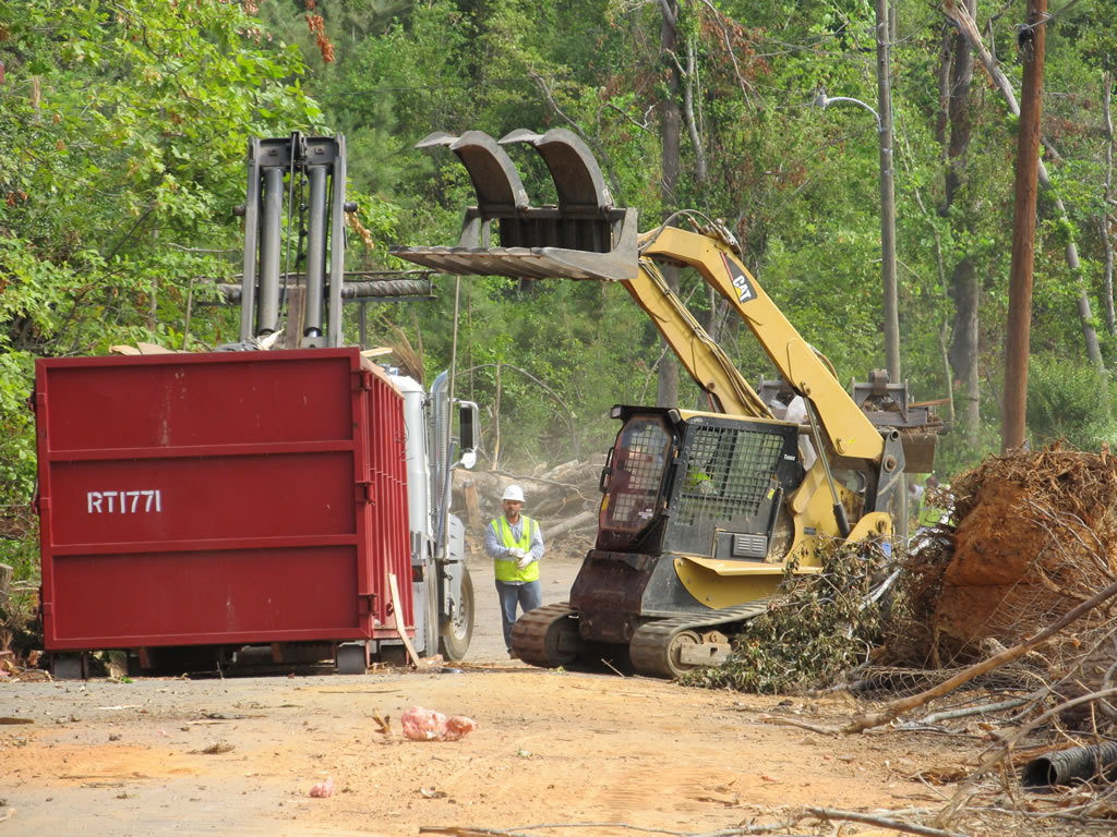 Railroad derailment and site cleanup with Hass turnkey railroad solutions