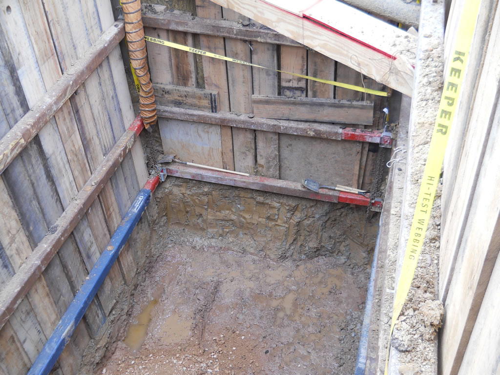 HASS BEAM PLATES and trench boring in and around houston TX