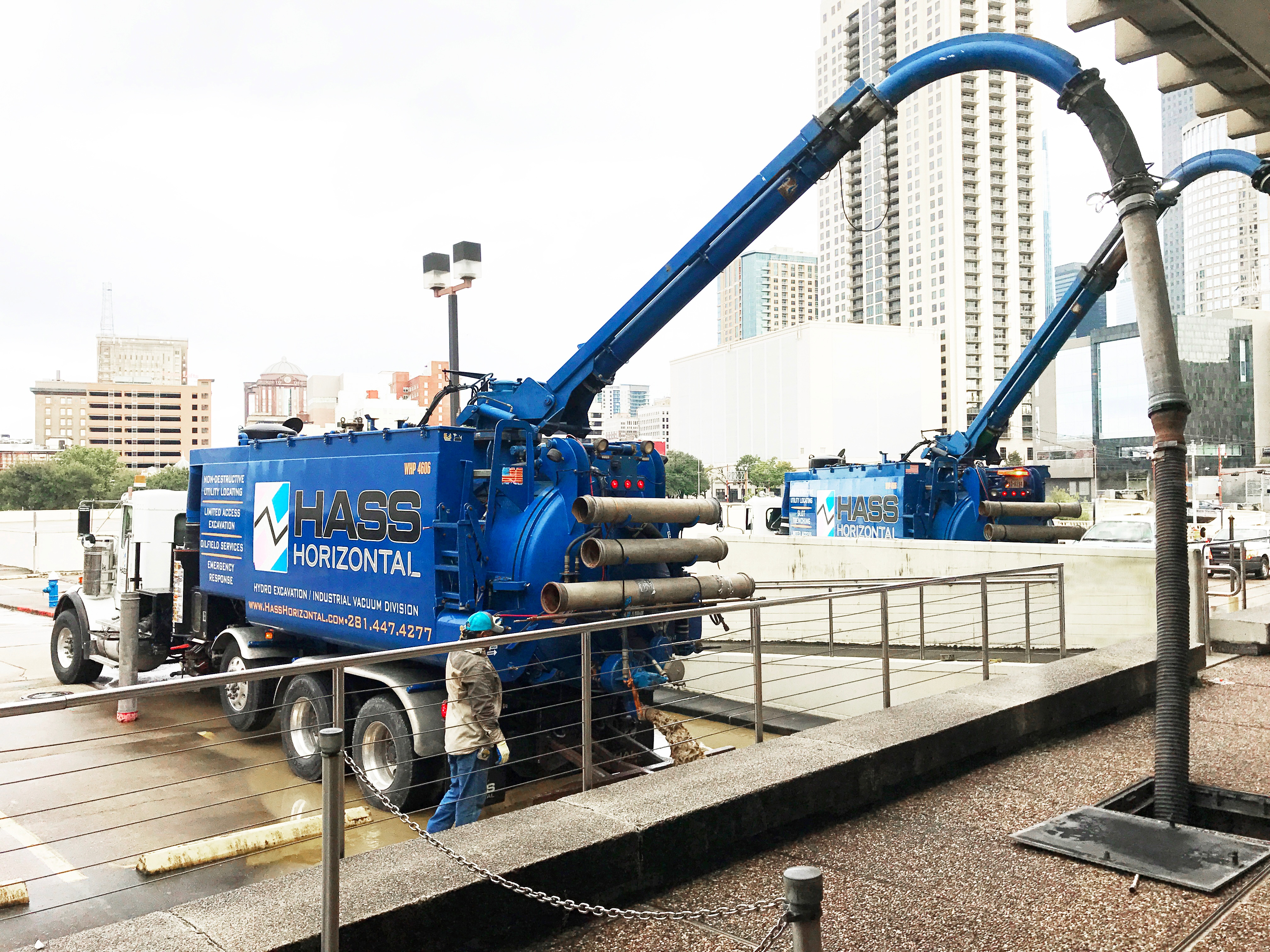 Restoring Electrical Service after Hurricane Harvey Hass Directional Drilling
